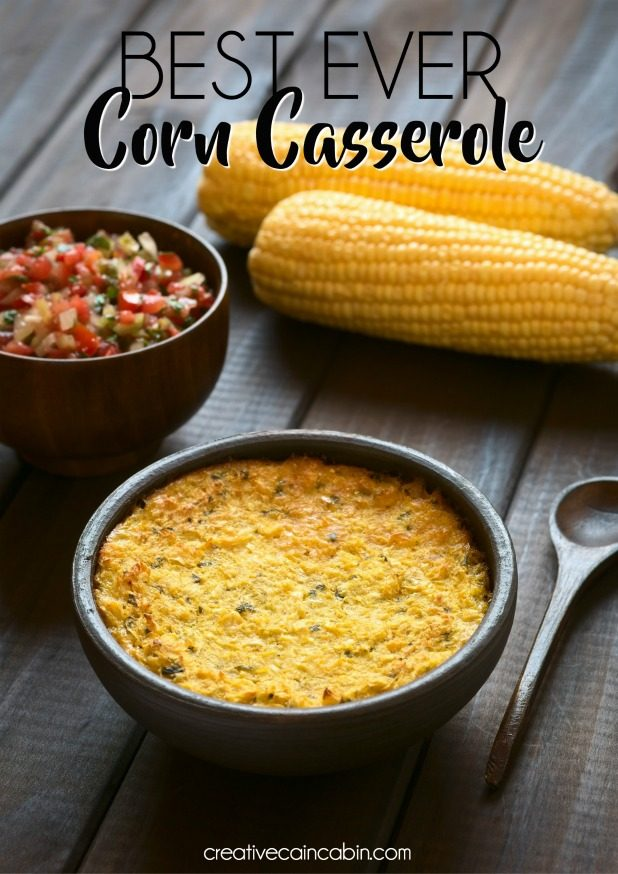 Best Ever Corn Casserole Recipe