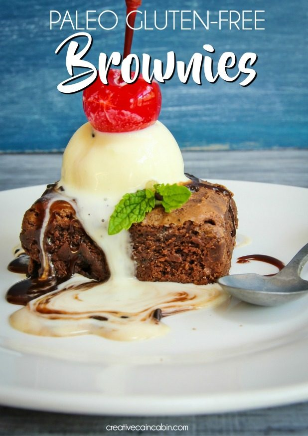 Paleo, Gluten-Free Brownies