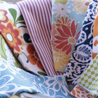 Spring Fabric (Take a Guess What I Will be Making)
