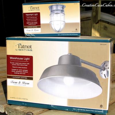 Barn Light on the Cheap