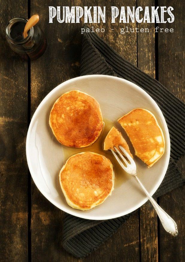 Pumpkin Pancakes, Paleo, Gluten Free