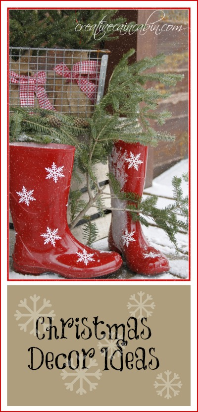 Snowflake Boots