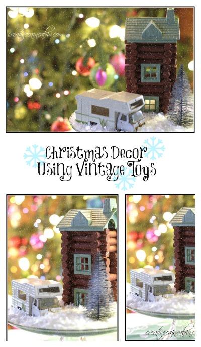 Vintage Toy Christmas Decor