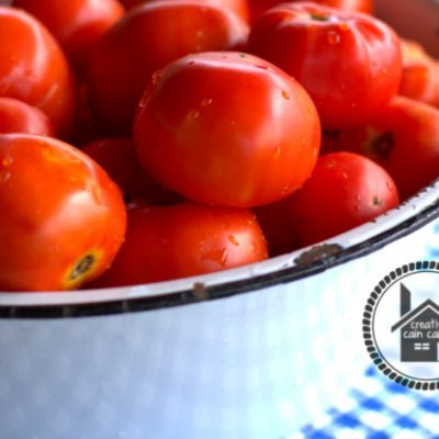 Oven Canned Crushed Tomatoes