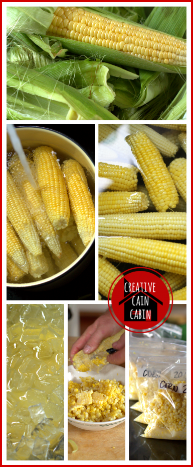 How to Blanch & Freeze Corn