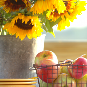 Sunflowers | Apples | Fall Inspiration | CreativeCainCabin.com