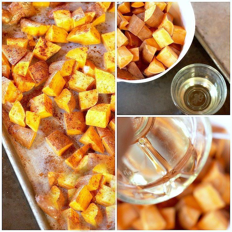 Healthy, Crispy, Oven Ready, Easy, Sweet Potato Bite Recipe