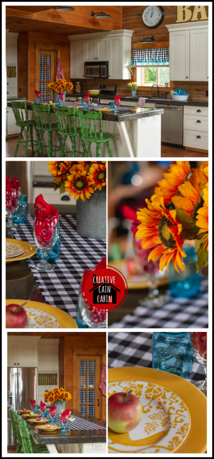 Fall Farmhouse Kitchen Tour