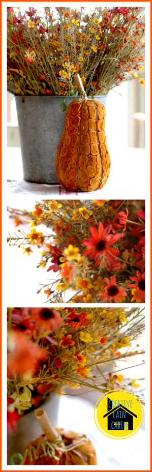 Fall Faux Centerpiece