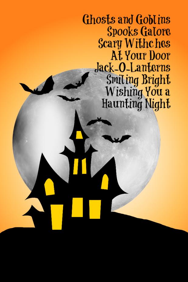 Halloween Poem Printable