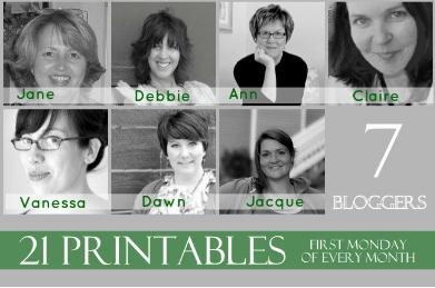 Printable Bloggers