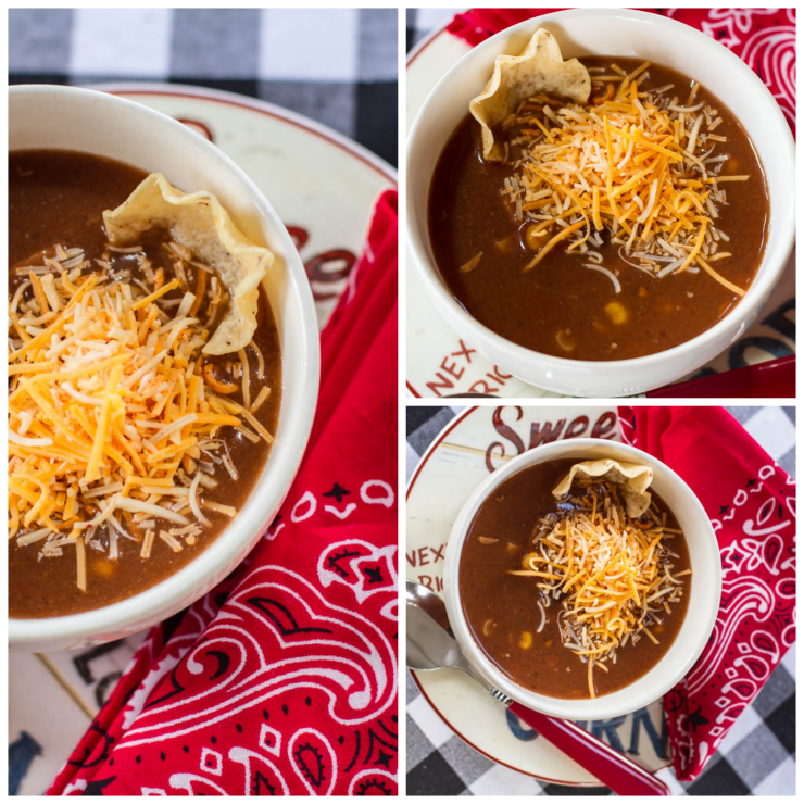 8 Can Chicken Enchilada Soup