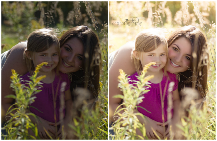 Before & After Portrait in Picmonkey