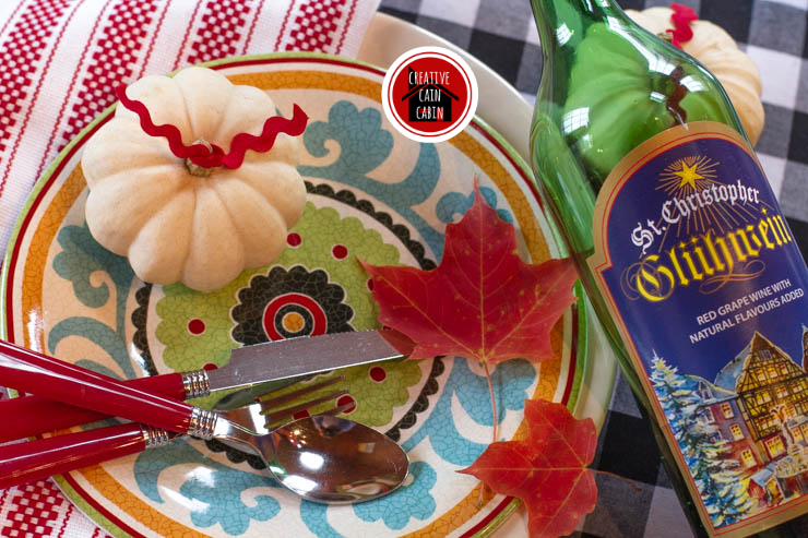 Fall Place Setting Items