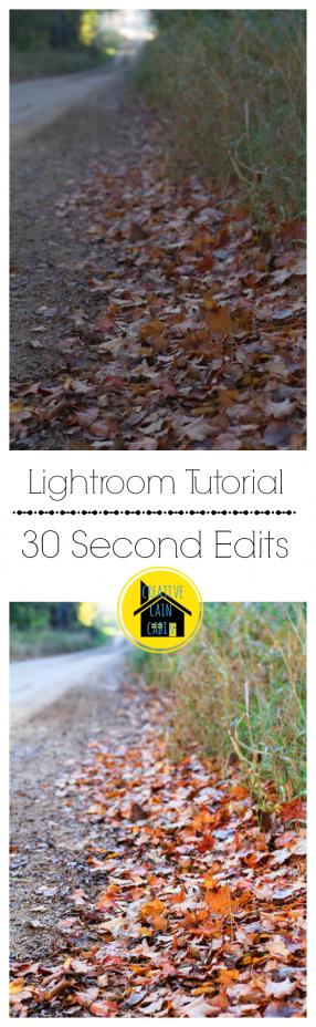 Lightroom Edit Tutorial