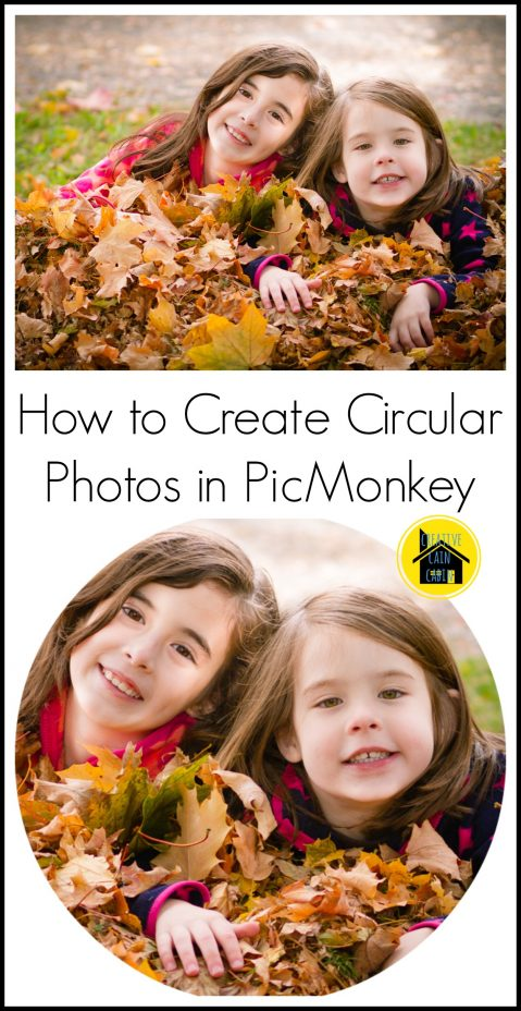 Circular Photo Tutorial