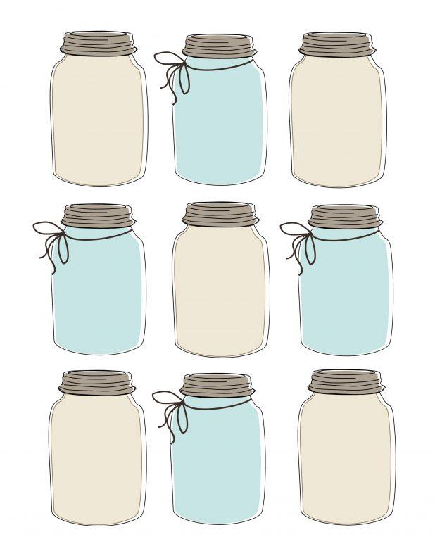 Mason Jar Gift Tag