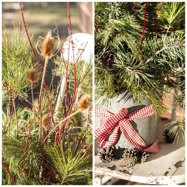 Pine Branch Bouquet