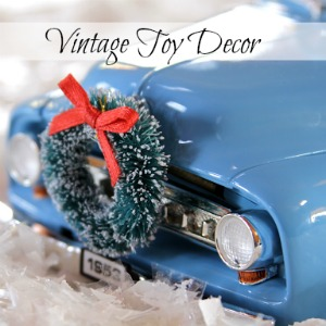Vintage Toy Decor