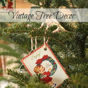 Vintage Tree Decor