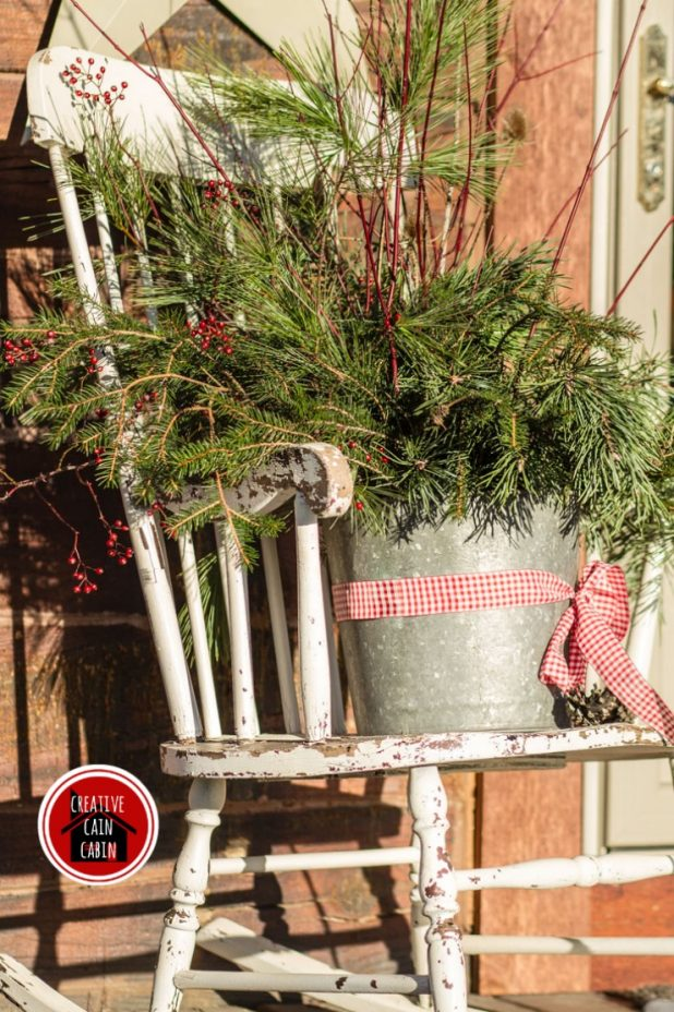 Natural Element Christmas Decor Creative Cain Cabin