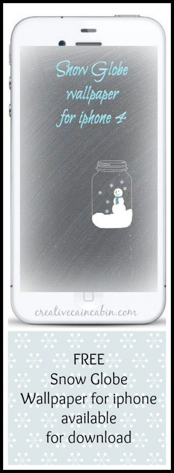 Snow Globe Wallpaper for iphone
