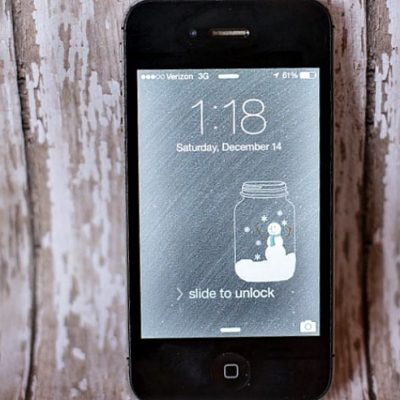 FREE Snow Globe Wallpaper Download for iphone