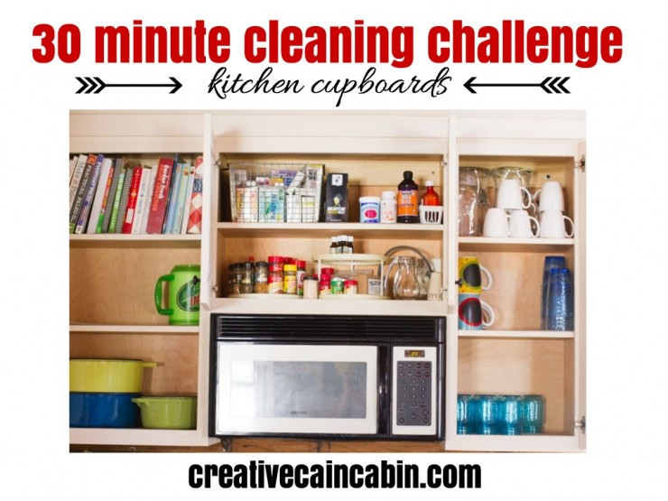 30 Minute Cleaning Challenge