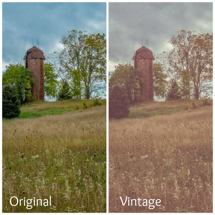 How to use Curves in PicMonkey to get a Vintage Look