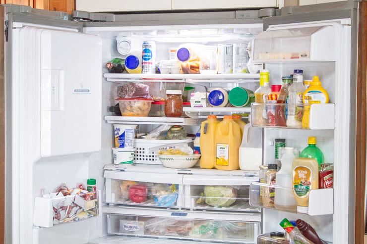 Open Refrigerator