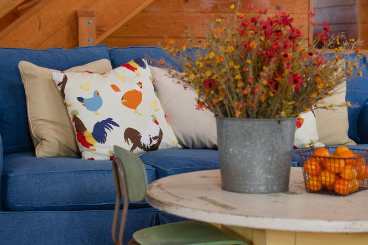 Denim JCPenney Slipcover Sofa