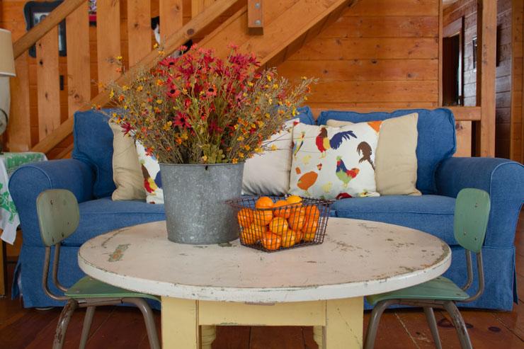 Denim JCPenney Sofa Slipcover