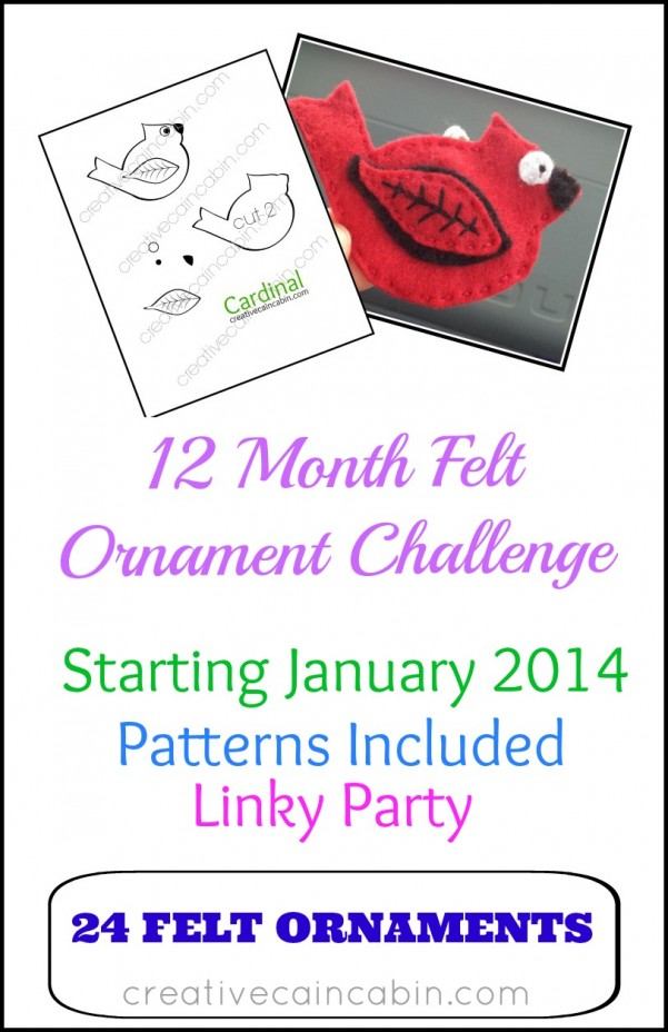 12 Month Ornament Challenge