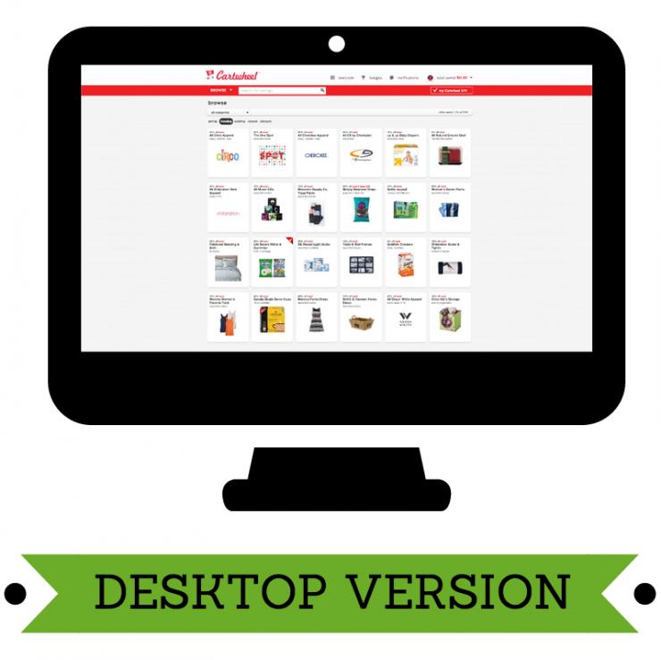 Desktop Version of Cartwheel