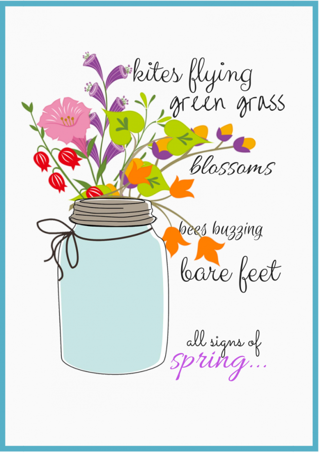 """""""Signs of Spring"""" FREE Download"""