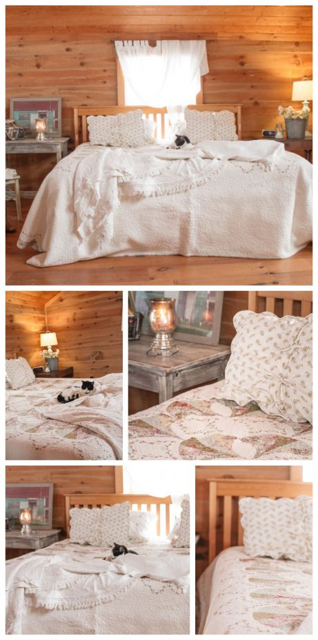 Decorate a Master Bedroom with Thrifted Items