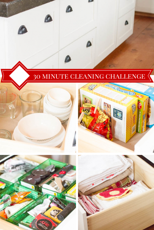 30 Minute Cleaning Challenge - Kitchen Island