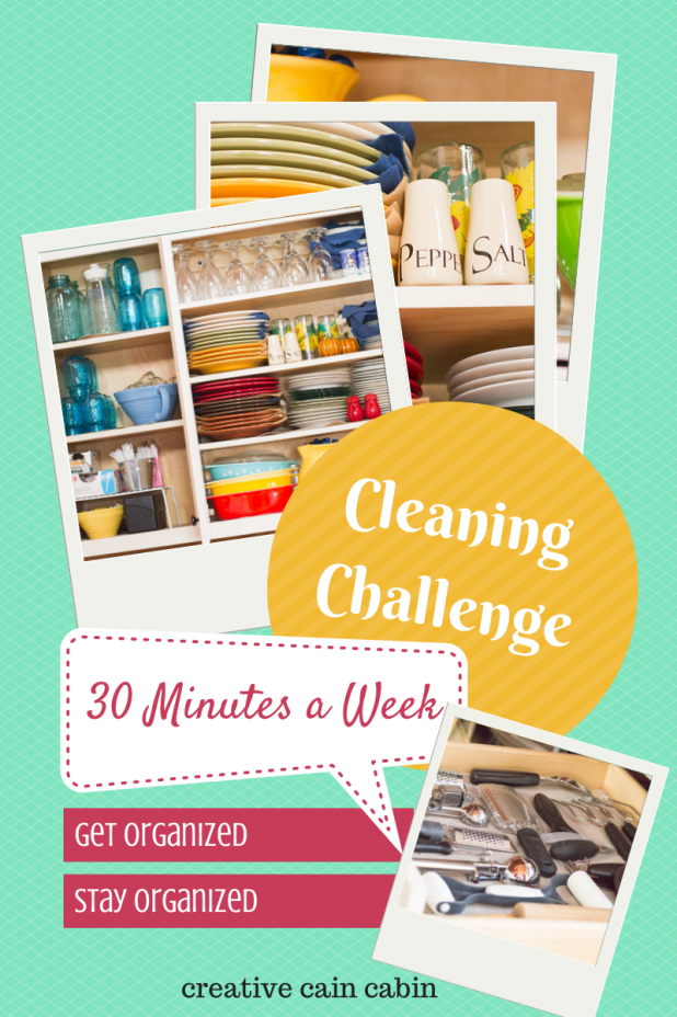 30 Minute Cleaning Challenge A Monthly Chore Chart to Keep Your Home Organized and Stay Organized