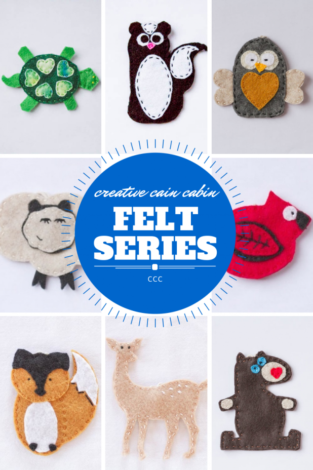 Felt Ornament Series - Free to Download - 2 Added Every Month