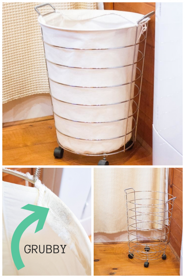 Grubby Laundry Basket