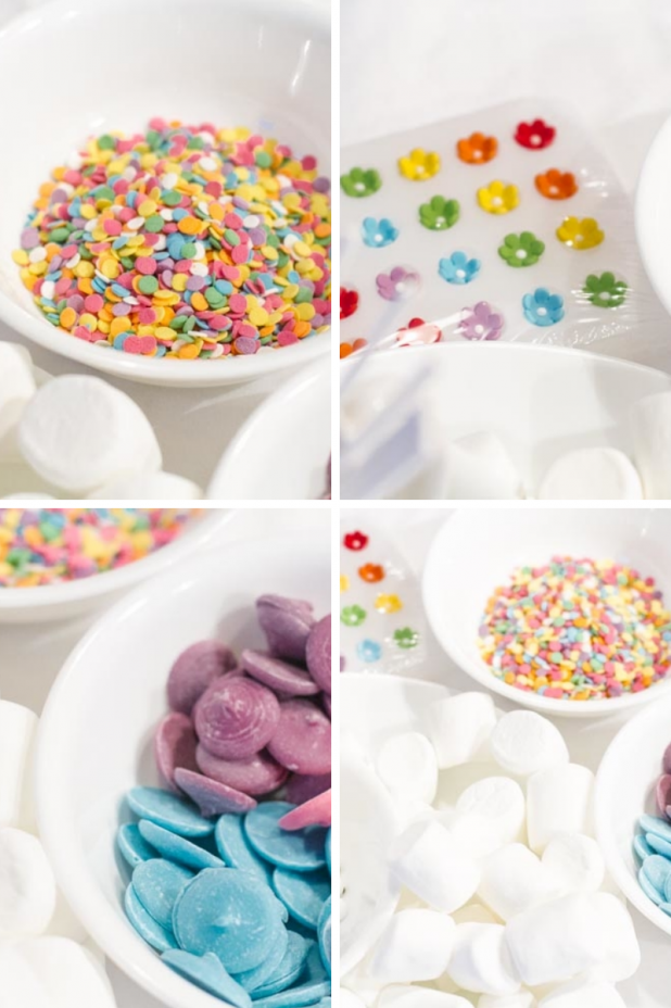 Marshmallow Pop Ingredients