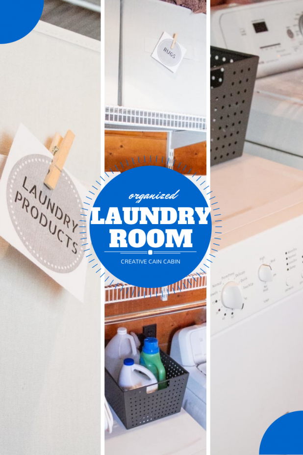 Organized Laundry Room Pin