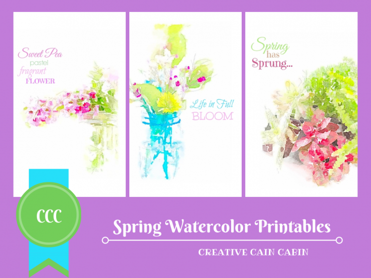 Spring Watercolor Collection