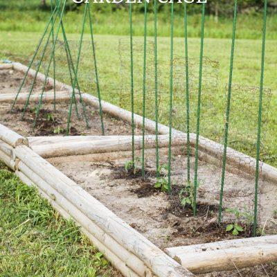 Chicken Wire Garden Cage