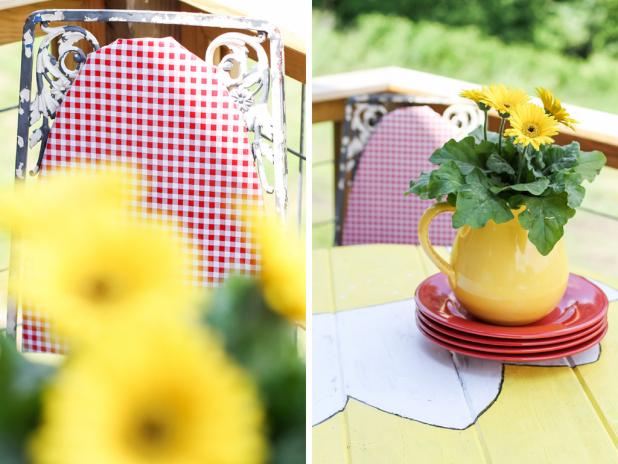 Daisy Table | Creative Cain Cabin