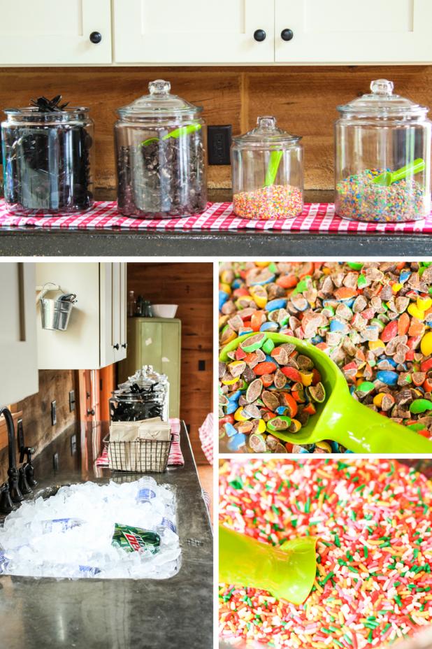 Ice Cream Bar | Creative Cain Cabin