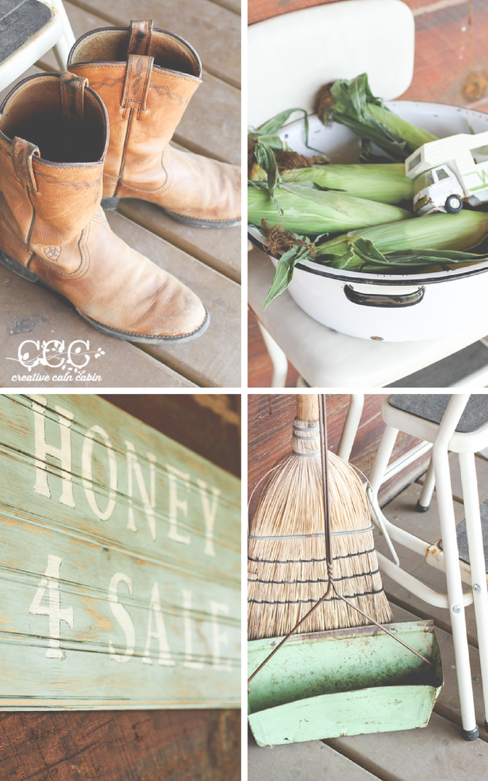 Green and Rustic | Creative Cain Cabin