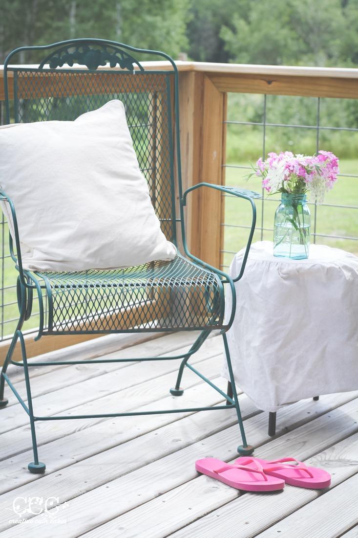 Phlox | Mason Jar | Porch Sitting | Creative Cain Cabin