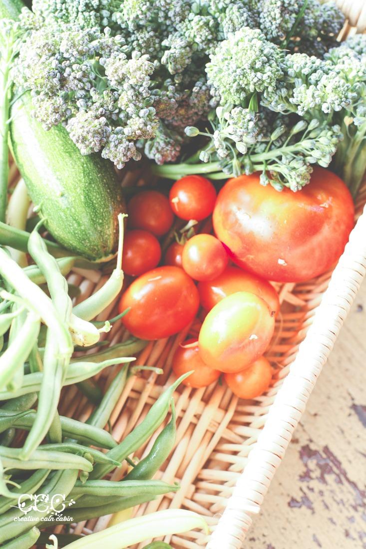 Garden Vegetables   Creative Cain Cabin