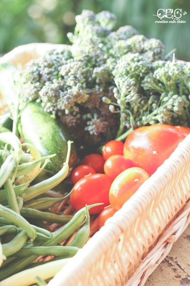 Garden Vegetables | Creative Cain Cabin